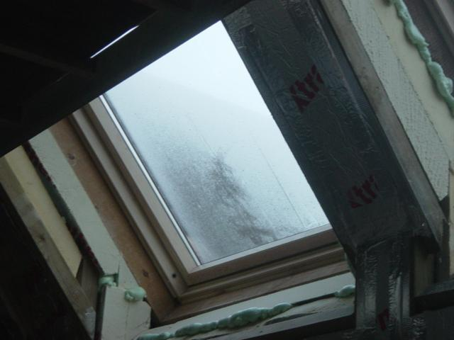 velux windows condensation insulation