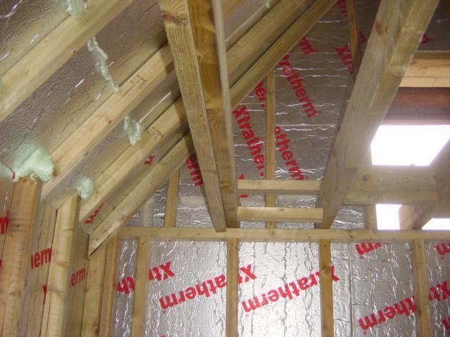 Building A Timber Frame To Support The Barn Insulation Euula